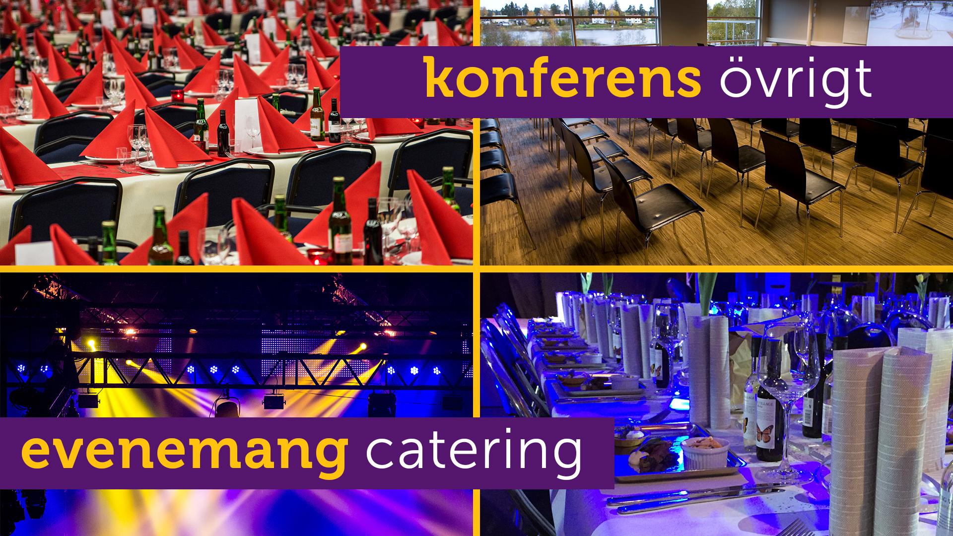 Evenemang - Konferens - Catering