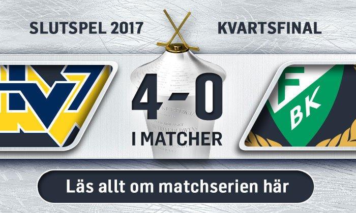 HV71:s väg till semifinal
